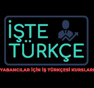 İşte Türkçe Logo, Business Turkish, Online Lessons, Private Turkish LEssons for Foreigner Businessmen